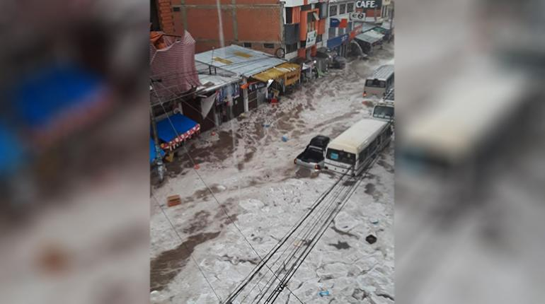 Apocalyptic hailstorm floods Sucre in Bolivia, sucre hail storm bolivia, sucre hail storm bolivia video, sucre hail storm bolivia pictures