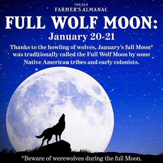 wolf moon january full moon