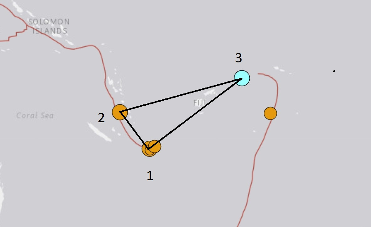 3 strong M6.1 earthquakes hit the Royalty Islands, Vanuatu and Wallis and Futuna in 14 hours - Strange Sounds