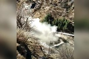 Dam collapse in northern India on February 7 2021 video and pictures, 150 dead as Dam collapse in northern India on February 7 2021 video and pictures, dam collapse india february 2021, dam collape india video