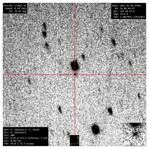 New Comet C/2021 A1 (Leonard)