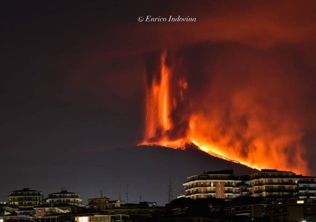 Etna eruption on February 21 2021, Etna eruption on February 21 2021 video, Etna eruption on February 21 2021 pictures, Etna eruption on February 21 2021 paroxysm