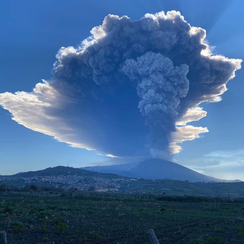 Etna eruption february 28 2021, Etna eruption february 28 2021 video, Etna eruption february 28 2021 εικόνα