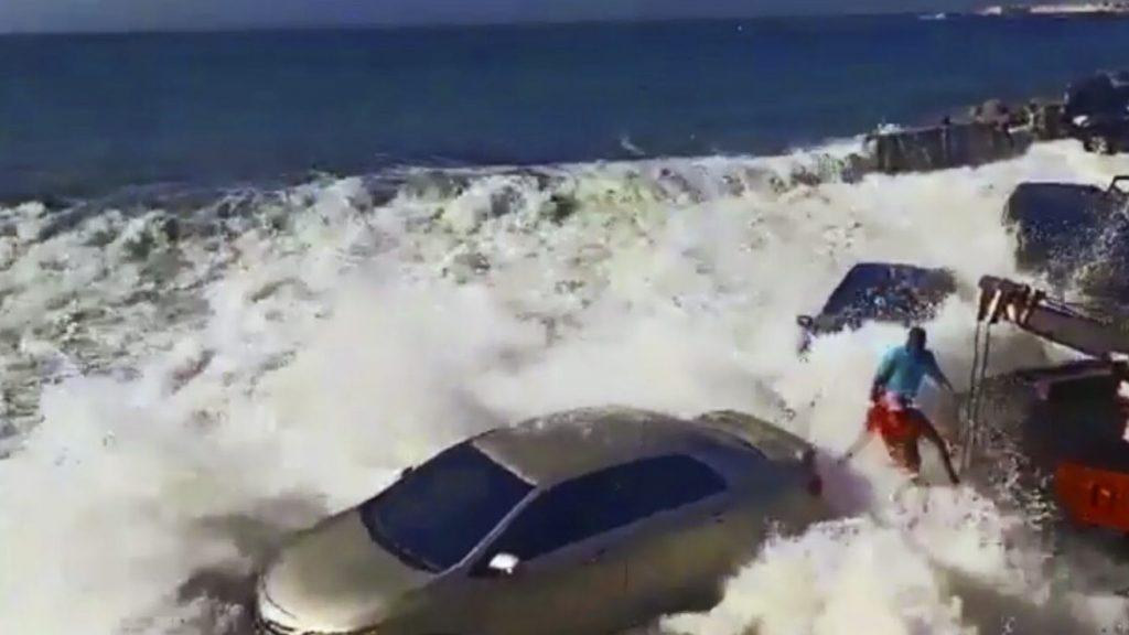 giant tidal wave in venezuela video