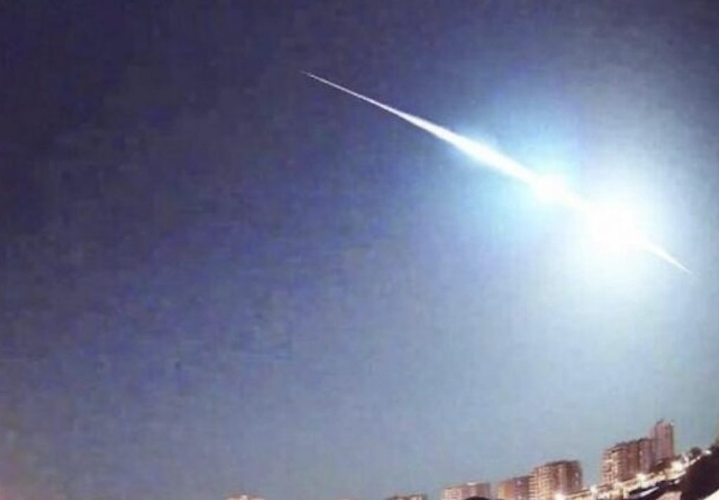 meteor fireball mallorca video, meteor fireball mallorca video pictures,Bright meteor fireball illuminates the sky over Mallorca