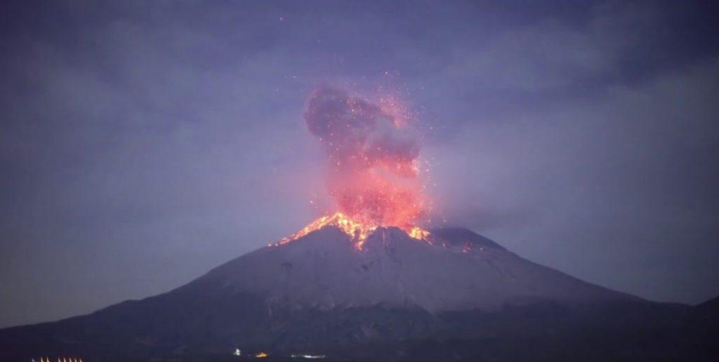 sakurajima volcano eruption february 2021, sakurajima volcano eruption february 2021 video, sakurajima volcano eruption february 2021 pictures