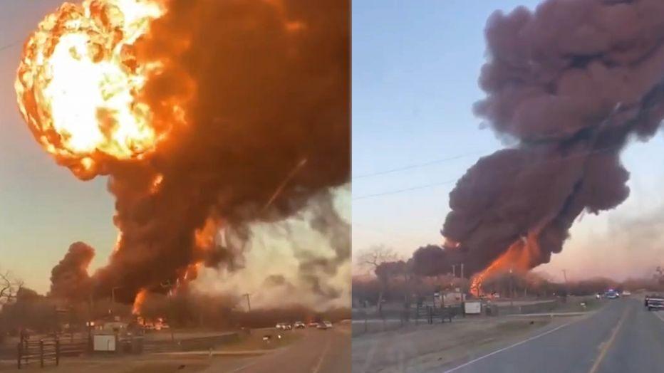 train explosion texas, train explosion texas february 23 2021, train explosion texas video, train explosion texas february 23 2021 video