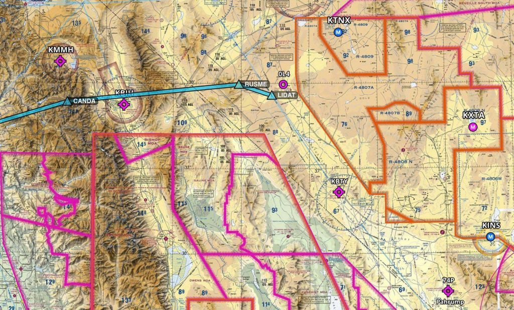 Mysterious High-Altitude Flight Corridor Was Opened Up Between Area 51 And The Pacific