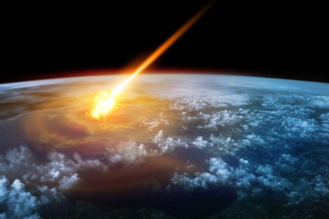 Asteroid impact Antarctica, Asteroid impact in Antarctica