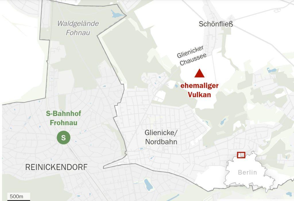 berlin volcano, volcano near berlin, berlin destroyed by volcano, volcano discovered near berlin