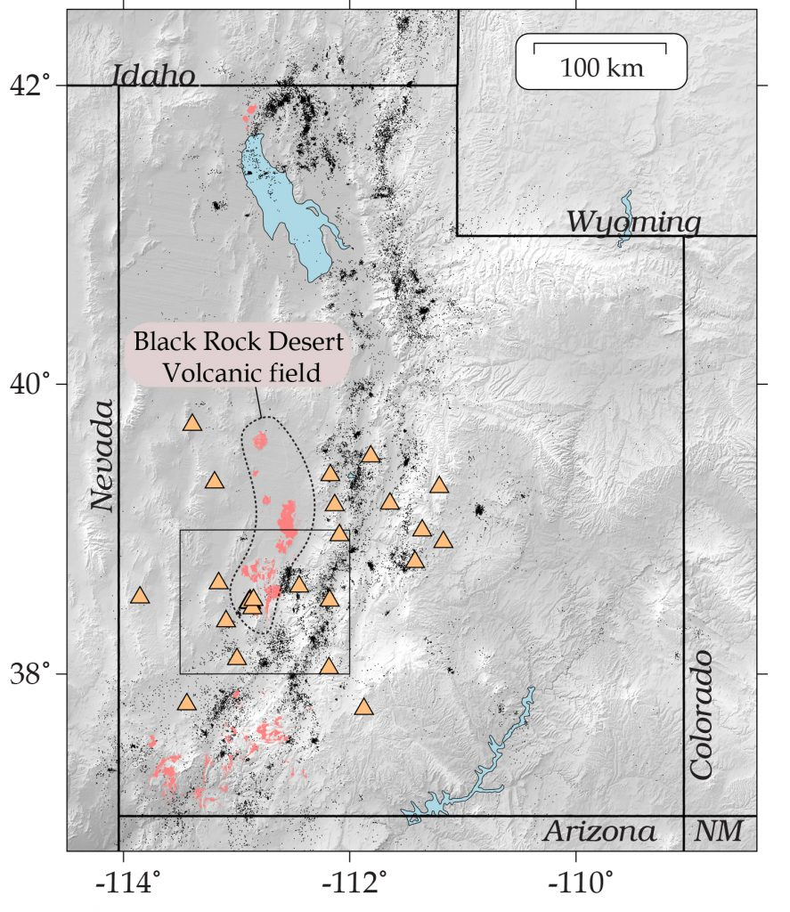 Black Rock Desert volcanic field, utah volcano, volcano in utahs, earthquake highlights volcanoes in utah