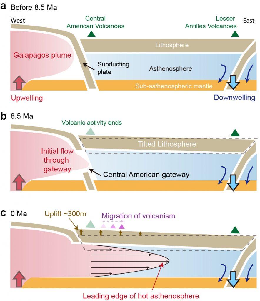 caribbean geology, caribbean geology news, layer of soft rocks under tectonic plates
