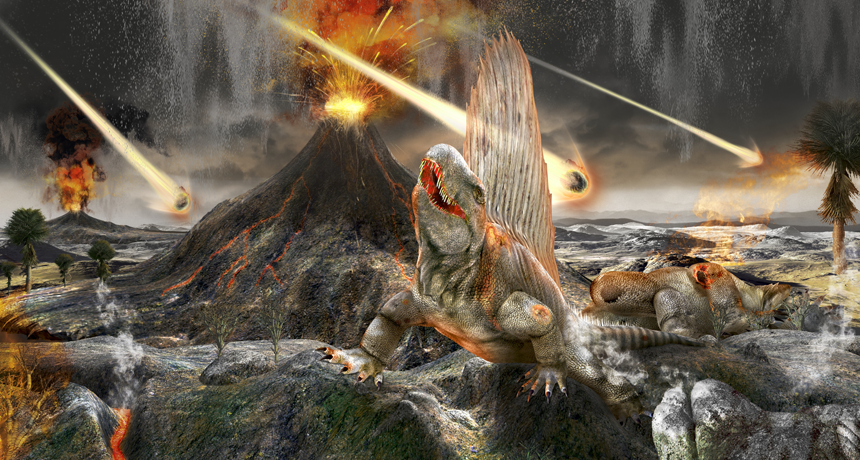 Dinosaur doomsday, What actually killed the dinosaurs, asteroid kills dino, Asteroid dust found at Chicxulub Crater confirms cause of dinosaurs extinction
