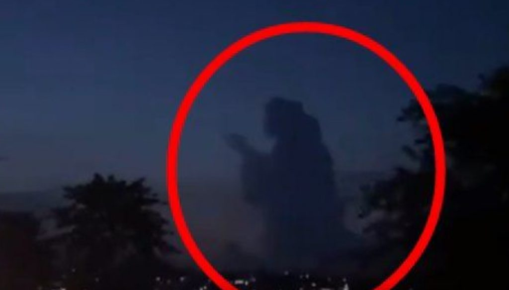 Project Blue Beam, mysterious praying silhouette appears in the sky over Indonesia, mysterious praying silhouette appears in the sky over Indonesia video, mysterious praying silhouette appears in the sky over Indonesia picture, mysterious praying silhouette appears in the sky over Indonesia march 2021