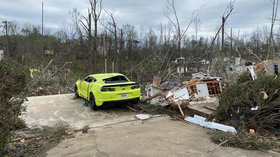newnan ef4 tornado march 2021