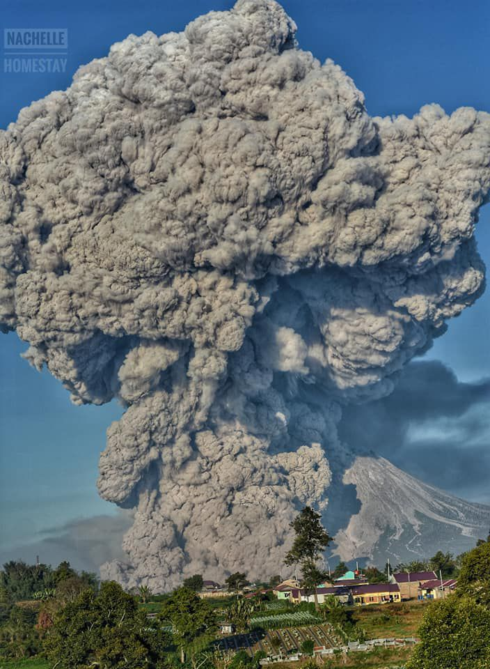 Sinabung eruption, volcano eruption, volcano eruption march 2021, Sinabung volcano eruption march 2021 video