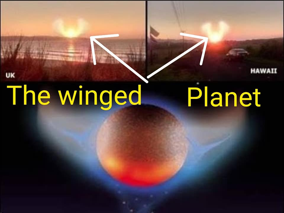 The winged planet