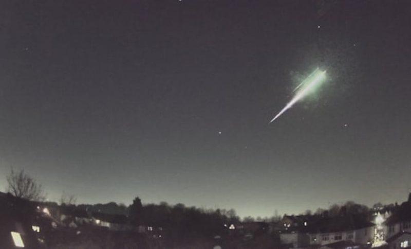uk meteorite, uk meteor, uk fireball, scientists find meteorite uk