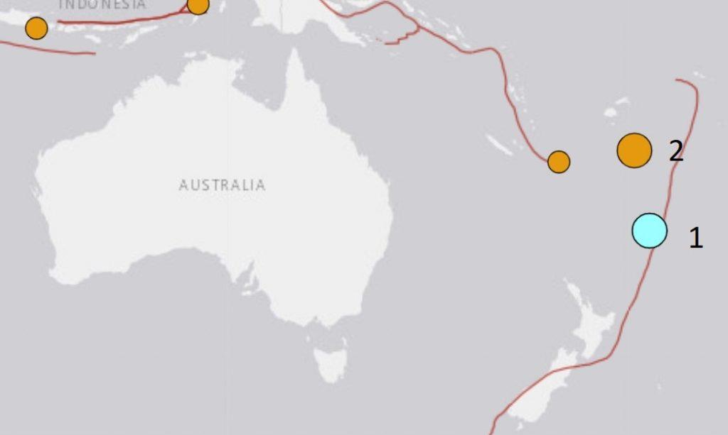 M6.5 earthquake followed by M6.0 earthquake april 1 2021