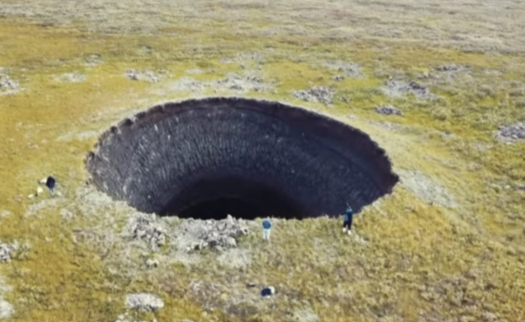 Mysterious giant craters in Siberia: Sinkholes or underground explosions?