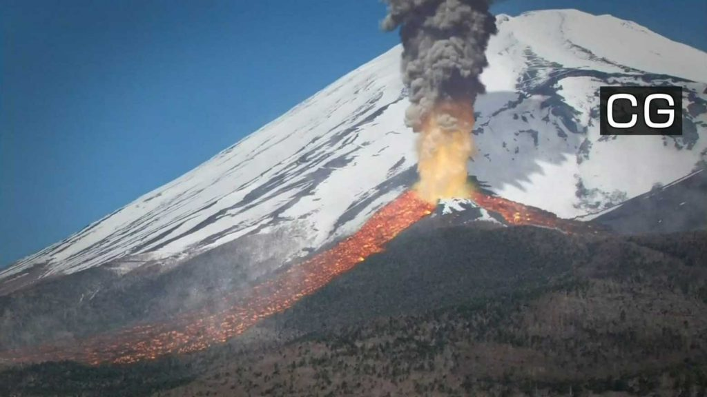 New hazard map for Mount Fuji doubles estimate of lava flow