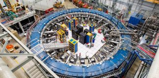 US Muon g-2 experiment, new force of nature, fifth force of nature