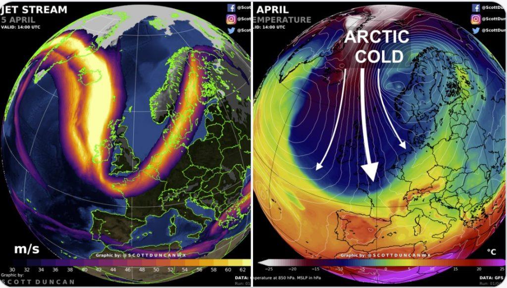 arctic blast europe, arctic blast europe food prices, arctic blast europe april 2021