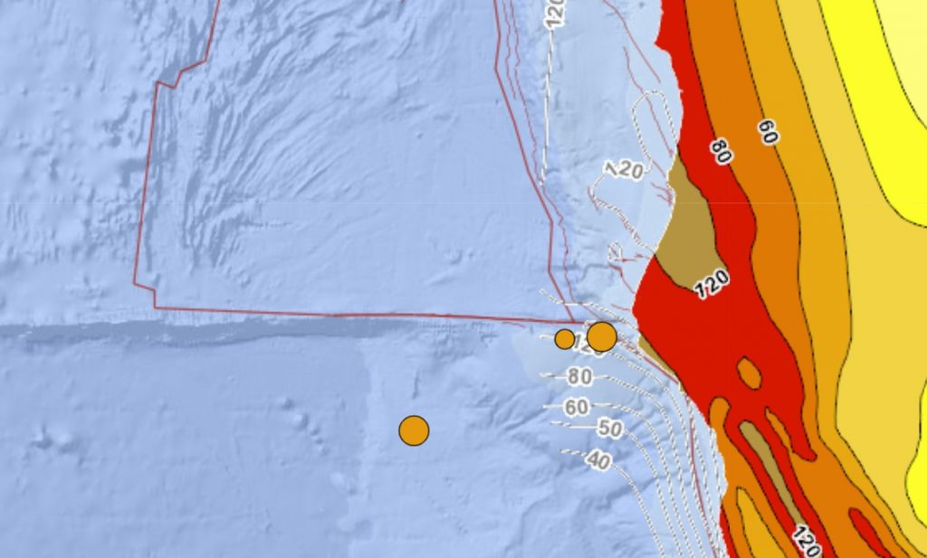 M4.6 and M4.4 earthquakes hit off northern California on April 2 2021
