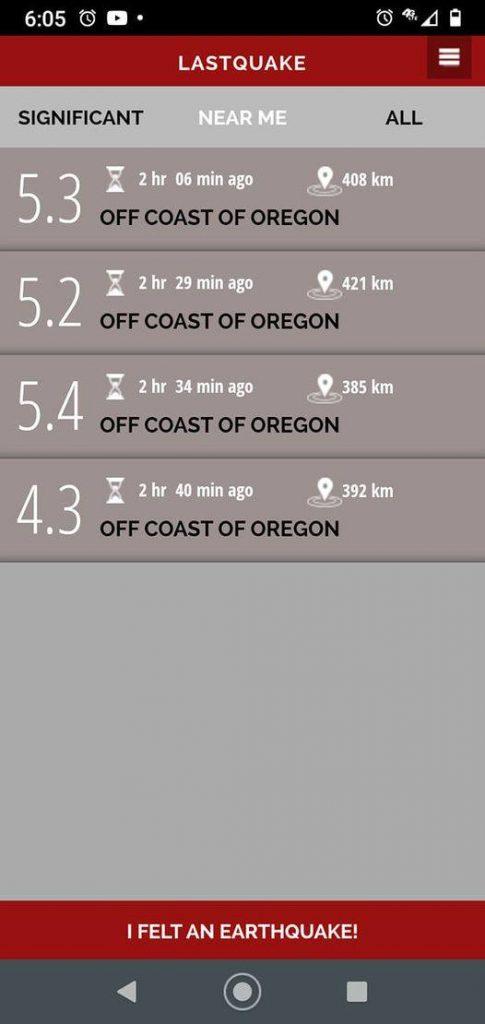 earthquake depths juan de fuca earthquake swarm april 29 2021