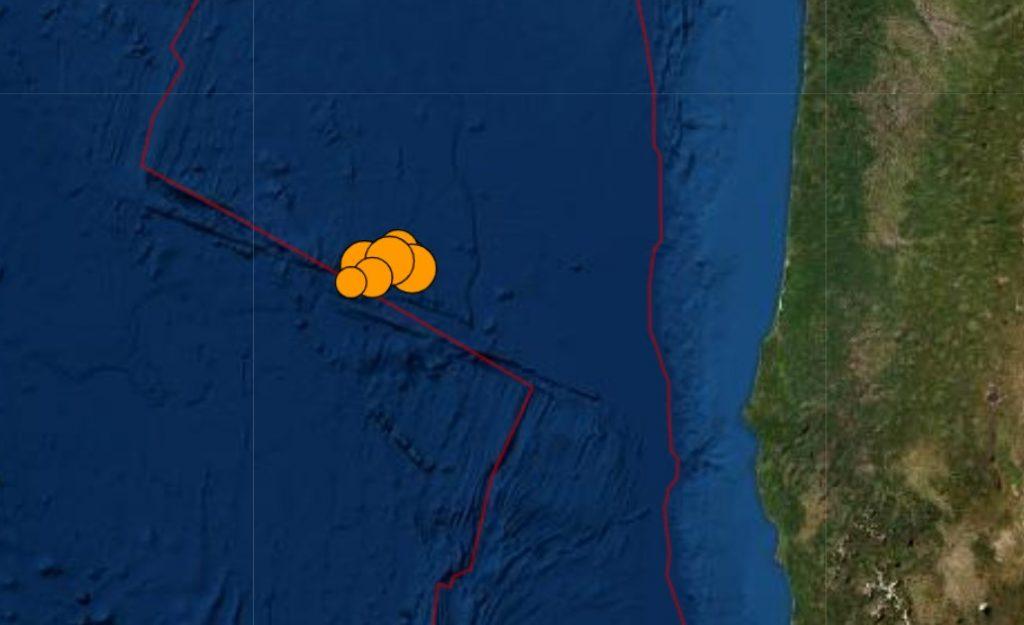juan de fuca plate earthquake swarm, juan de fuca plate earthquake swarm april 29 2021, juan de fuca plate earthquake swarm map