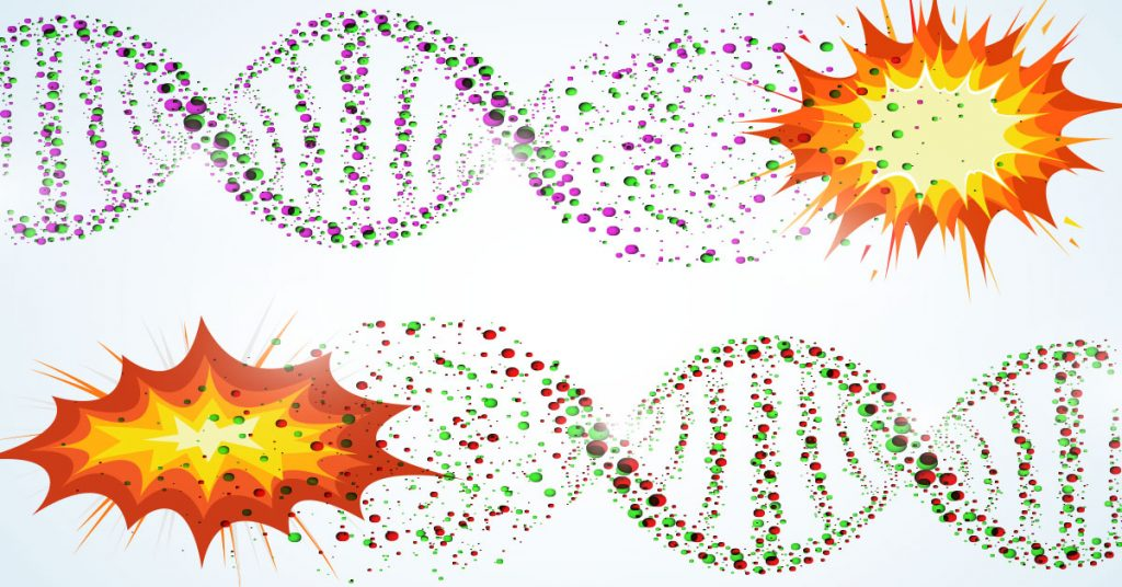 massive DNA damage caused by CRISPRCas9 gene editing