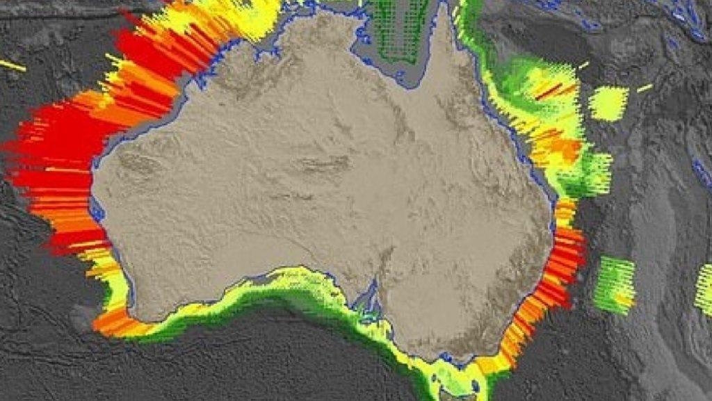 tsunami zones Australia, Tsunami prone areas in Australia, tsunami zone map australia