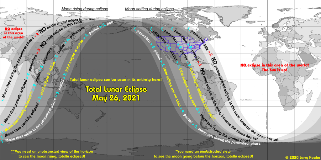 Lunar eclipse May 26 2021, Lunar eclipse May 26 2021 map, Lunar eclipse May 26 2021 visibility map, Lunar eclipse May 2021, Lunar eclipse May 26 2021 picture