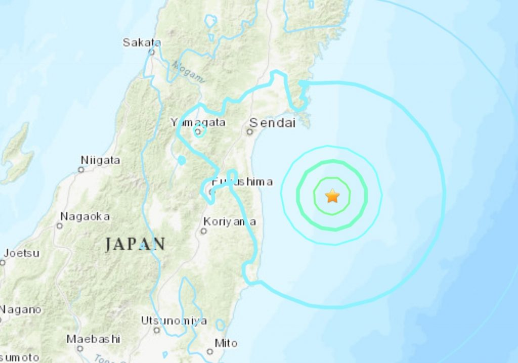 M6.0 earthquake Fukushima May 14 2021, M6.0 earthquake Fukushima May 14 2021 map, M6.0 earthquake Fukushima May 14 2021 video