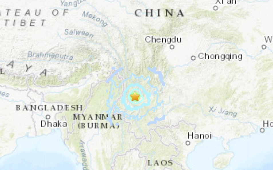 M6.1 earthquake in China on May 21 2021, M6.1 earthquake in China on May 21 2021 video, M6.1 earthquake in China on May 21 2021 map, M6.1 earthquake in China on May 21 2021 photo