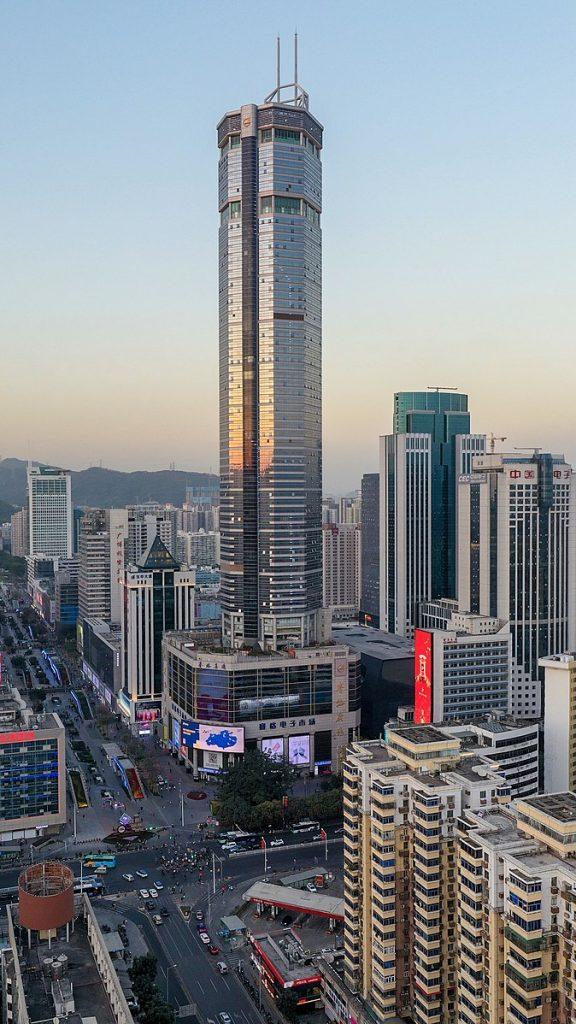 China skyscraper wobbles, spreading panic in downtown Shenzhen