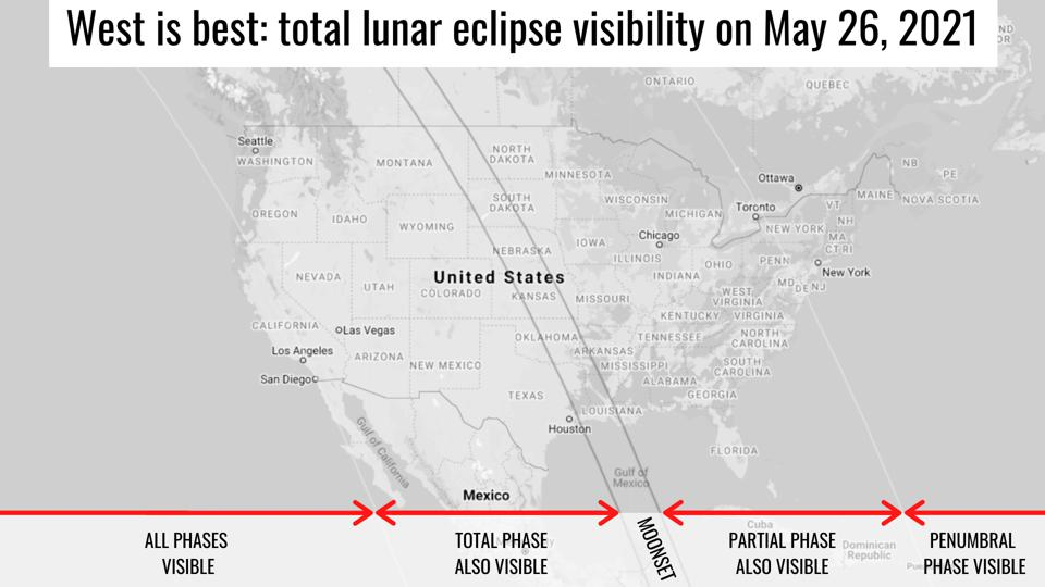 lunar eclipse visibility in the US on May 26 2021, Blood red moon lunar eclipse visibility in the US on May 26 2021, Blood red moon lunar eclipse visibility in the US on May 26 2021 map