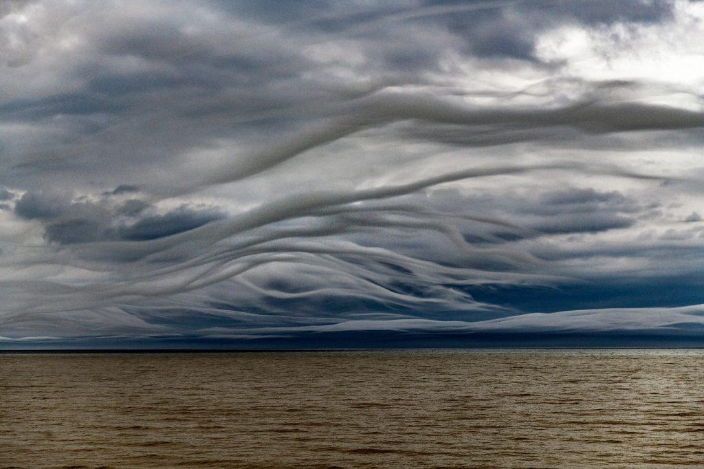 Crazy clouds over Lake Ontario