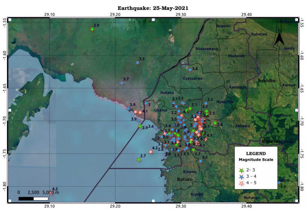lake kivu fire, lake kivu explosion may 2021