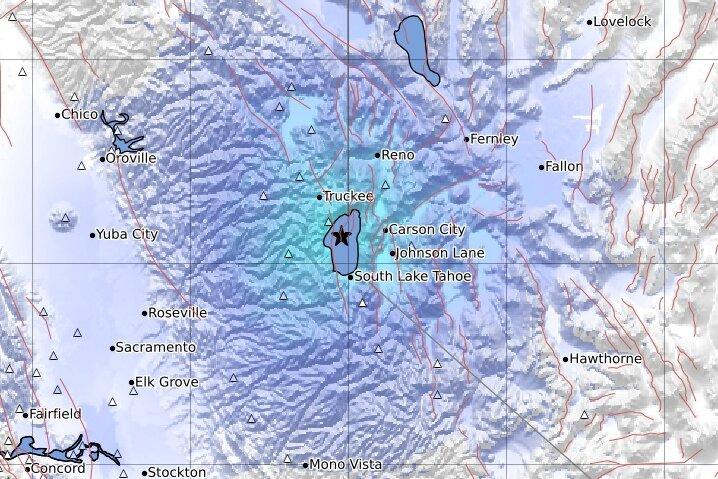lake tahoe earthquake swarm, lake tahoe earthquake swarm may 28 2021, lake tahoe earthquake swarm video, lake tahoe earthquake swarm map