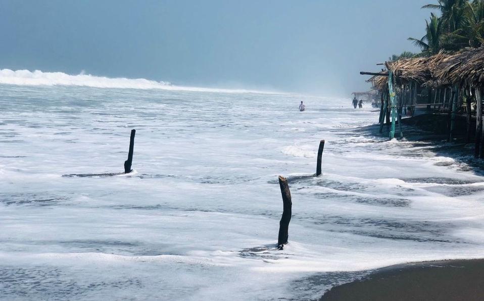 mar de fondo chiapas mexico, mar de fondo chiapas mai 2021, port bonifacio inondé, port bonifacio inondé video, port bonifacio inondé 24 mai 2021, mini tsunami mexico mai 2021