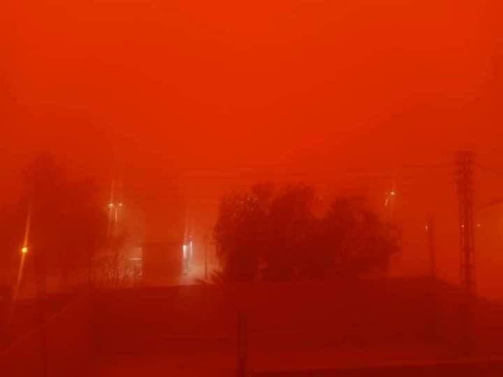 sandstorm Algeria blood red sky, sandstorm Algeria blood red sky video, sandstorm Algeria blood red sky photo, sandstorm Algeria blood red sky may 2021