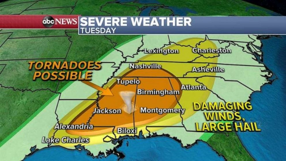 severe weather usa may 2021, tornado outbreak may 3 2021, 23 tornadoes in 24 hours usa may 2021