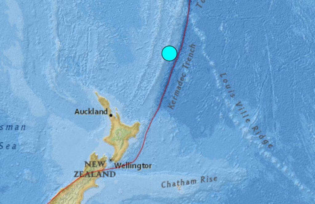 M6.3 earthquake Kermadec Islands on June 20 2021
