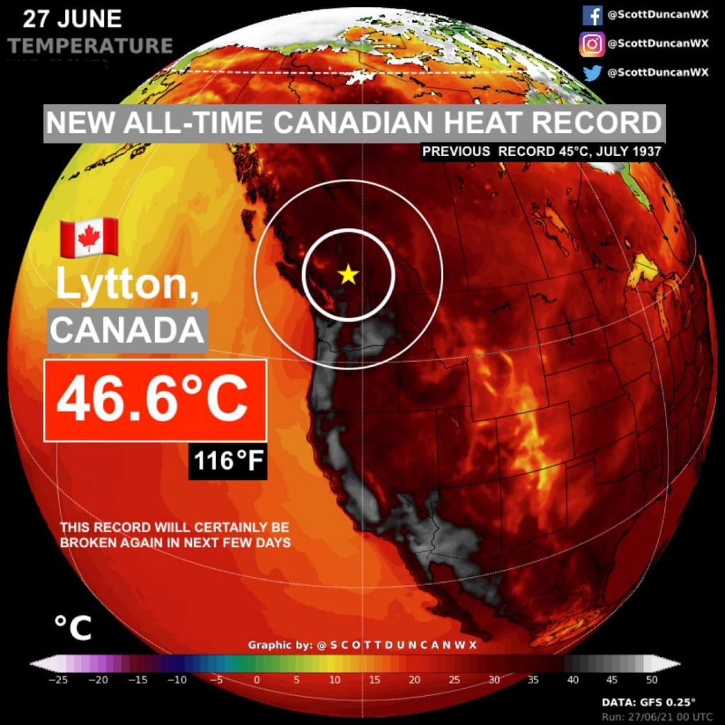 canada new heat record, what is canada heat record, canada new heat record lytton BC, canada new heat record lytton BC june 27 2021