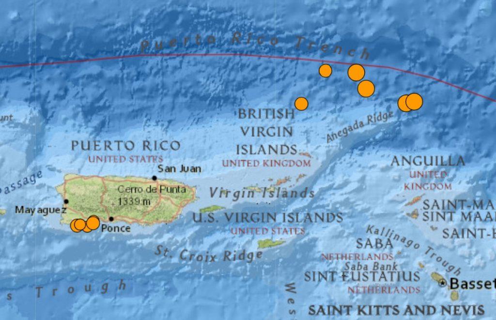earthquake puerto rico june 2021 caribbean