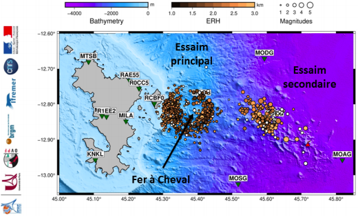 Mayotte earthquake swarms