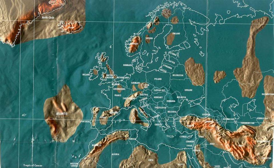 doomsday maps of Oceania, doomsday maps of Australia, doomsday maps of New Zealand, doomsday maps of Antarctica