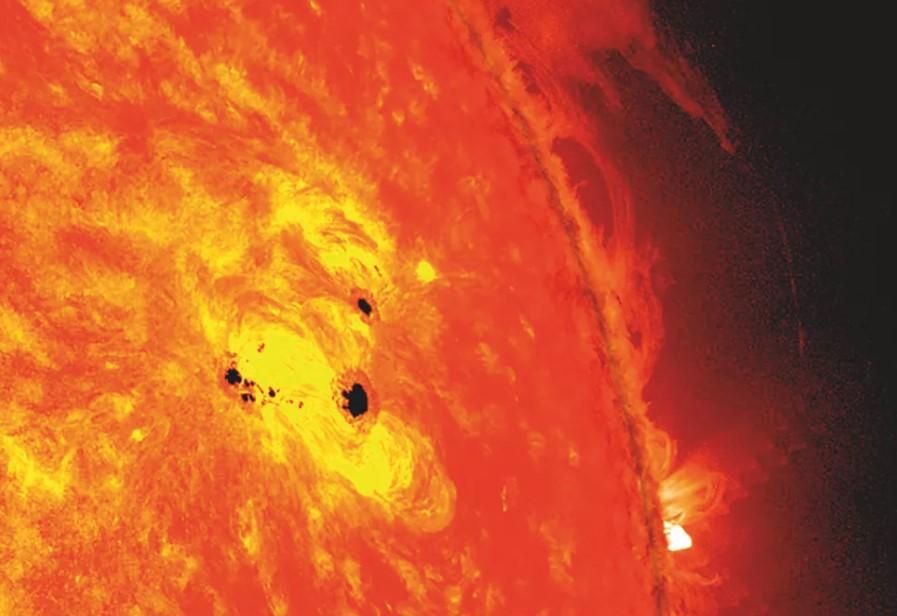 sunspot, sunspots, sunspots nasa, what are sunspots