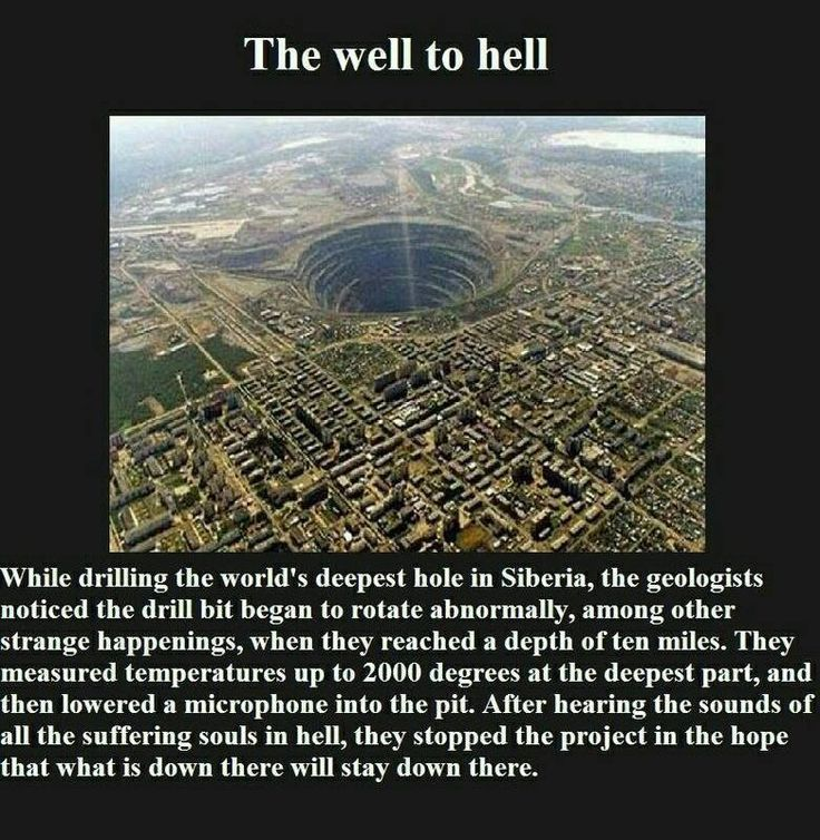 well to hell, well to hell Siberia, mystery well to hell Siberia